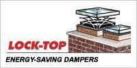 Lock-Top Energy-Saving Dampers seal tight like a thermos and lock in you heating dollars. There is no fireplace damper better that Lock-Top.